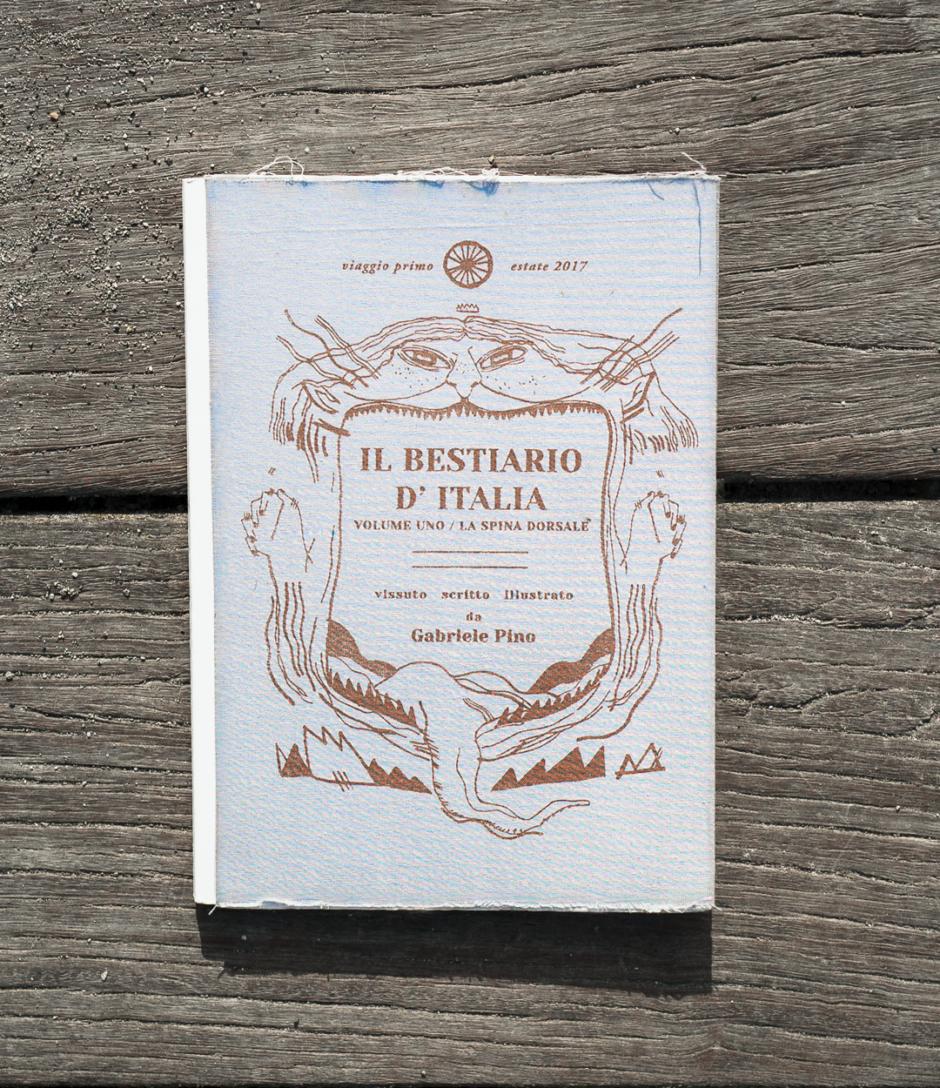 Copertina Bestiario d'Italia