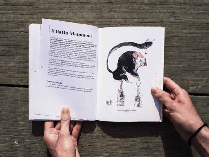 Il Gatto mammone – Il bestiario d'Italia – Gabriele pino
